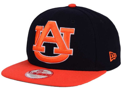 Auburn Tigers New Era NCAA Logo Grand Redux 9FIFTY Snapback Cap