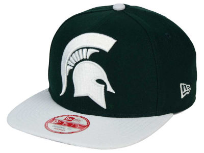 Michigan State Spartans New Era NCAA Logo Grand Redux 9FIFTY Snapback Cap