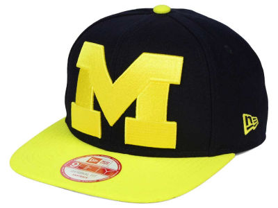 Michigan Wolverines New Era NCAA Logo Grand Redux 9FIFTY Snapback Cap