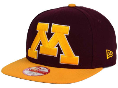 Minnesota Golden Gophers New Era NCAA Logo Grand Redux 9FIFTY Snapback Cap
