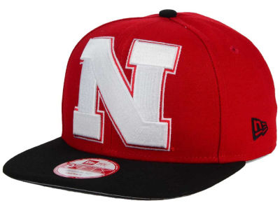 Nebraska Cornhuskers New Era NCAA Logo Grand Redux 9FIFTY Snapback Cap