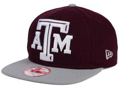 Texas A&M Aggies New Era NCAA Logo Grand Redux 9FIFTY Snapback Cap