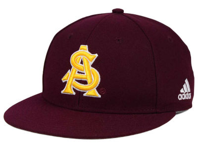 Arizona State Sun Devils adidas NCAA On Field Baseball Cap