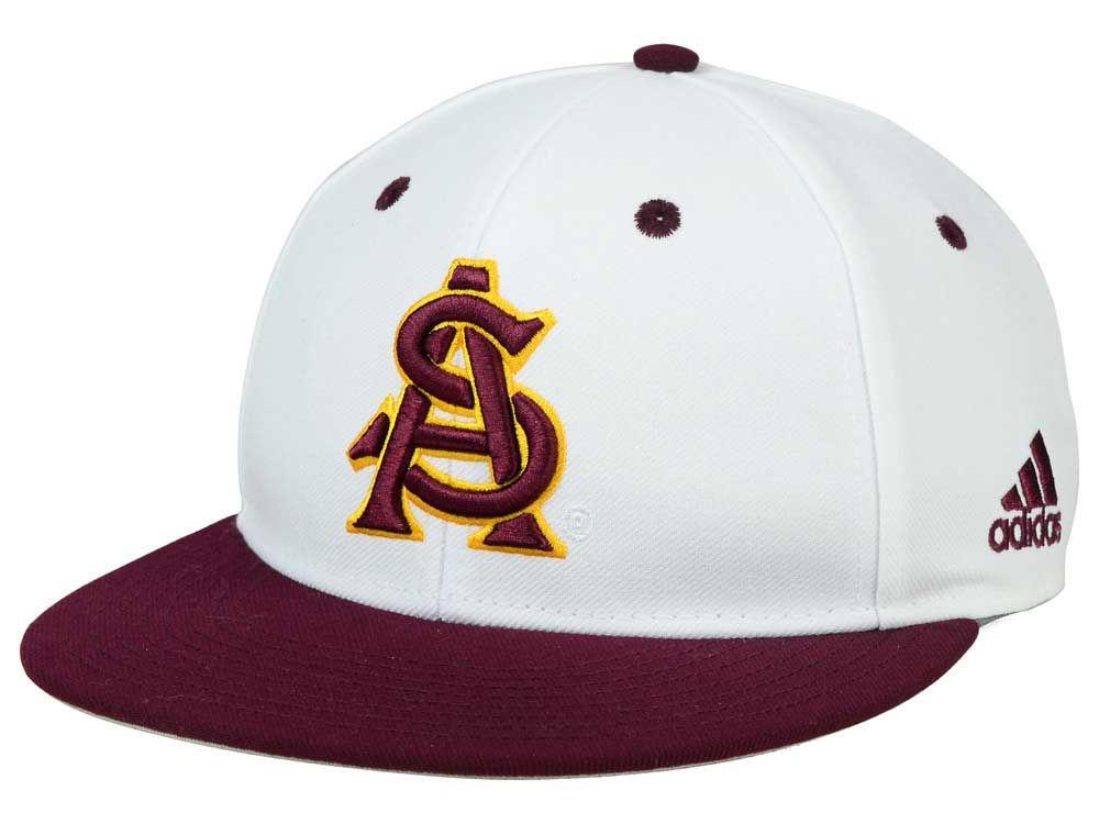 newest 59faa ed5cc ... usa arizona state sun devils adidas ncaa on field baseball cap bb697  61332