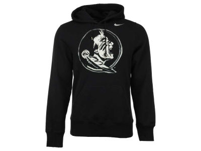 Florida State Seminoles Nike NCAA Men's Project Fresh 2.0 Painted Logo Cotton Hoodie
