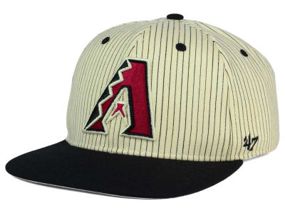 Arizona Diamondbacks '47 MLB Woodside 47 Captain Snapback Cap