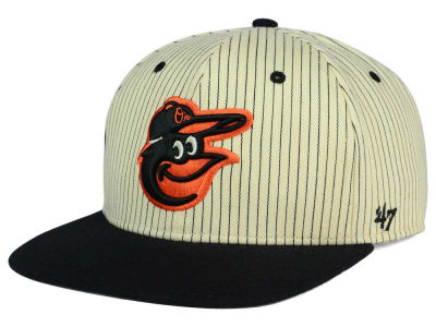 Baltimore Orioles '47 MLB Woodside 47 Captain Snapback Cap