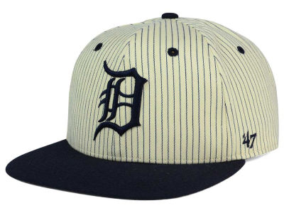 Detroit Tigers '47 MLB Woodside 47 Captain Snapback Cap