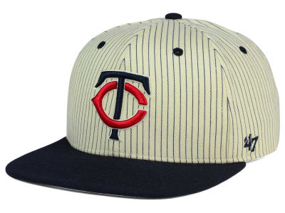 Minnesota Twins '47 MLB Woodside 47 Captain Snapback Cap