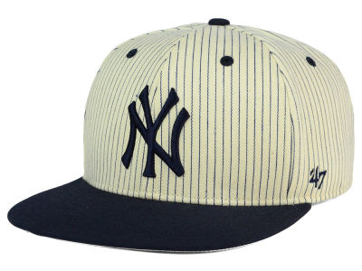 New York Yankees '47 MLB Woodside 47 Captain Snapback Cap