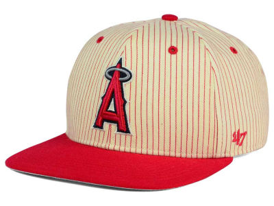 Los Angeles Angels '47 MLB Woodside 47 Captain Snapback Cap
