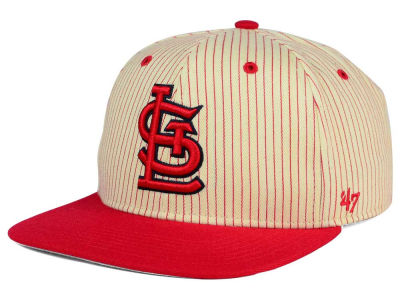 St. Louis Cardinals '47 MLB Woodside 47 Captain Snapback Cap