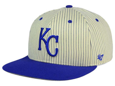 Kansas City Royals '47 MLB Woodside 47 Captain Snapback Cap