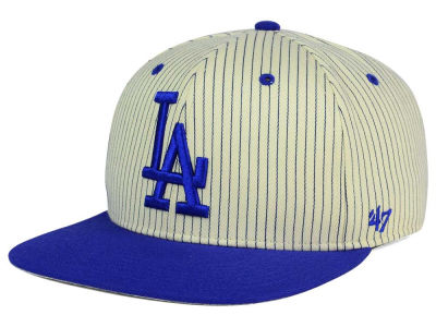 Los Angeles Dodgers '47 MLB Woodside 47 Captain Snapback Cap