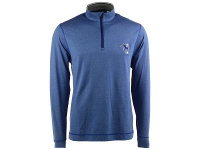 Indianapolis Colts NFL Men's Drytec Topspin Half Zip Pullover Shirt