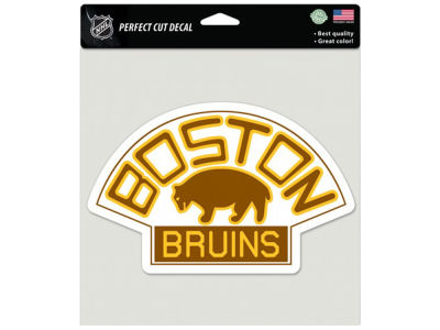 Boston Bruins Die Cut Color Decal 8in X 8in