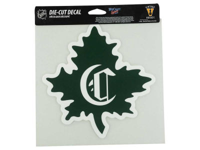 Montreal Canadiens Die Cut Color Decal 8in X 8in