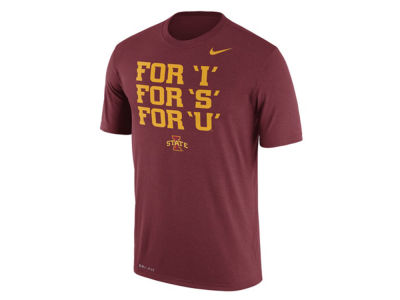 Iowa State Cyclones Nike NCAA Men's Legend Authentic Local T-Shirt