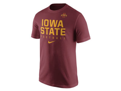 Iowa State Cyclones Nike NCAA Mens Cotton Practice T-Shirt