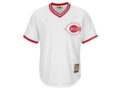 Cincinnati Reds Majestic MLB Men's Cooperstown Blank Replica Cool Base Jersey