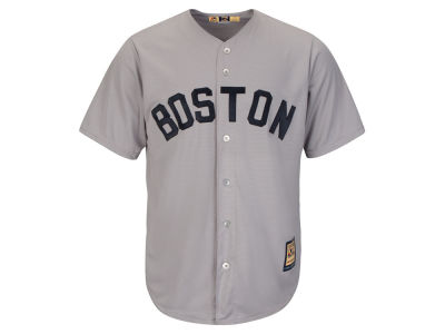Boston Red Sox Majestic MLB Men's Cooperstown Blank Replica Cool Base Jersey