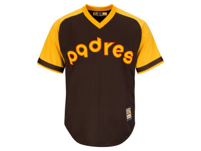 San Diego Padres Majestic MLB Men's Cooperstown Blank Replica Cool Base Jersey