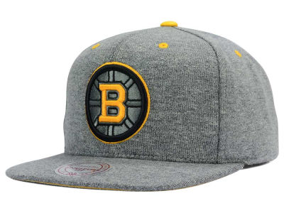 Boston Bruins Mitchell & Ness NHL Broad Street 2.0 Snapback Cap