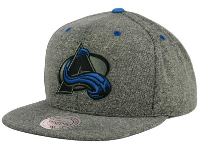 Colorado Avalanche Mitchell and Ness NHL Broad Street 2.0 Snapback Cap