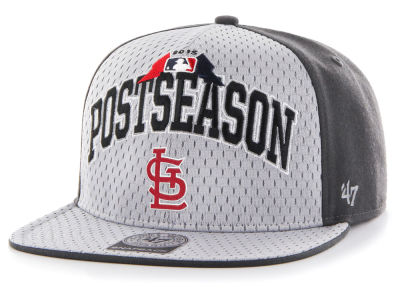 St. Louis Cardinals '47 MLB 2015 Post Season Locker Room Cap