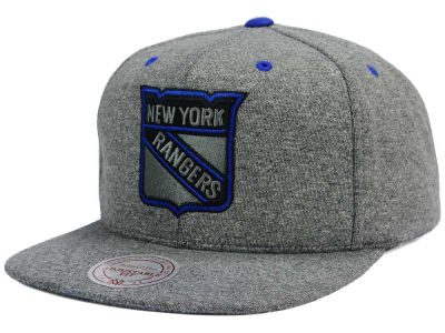 New York Rangers Mitchell and Ness NHL Broad Street 2.0 Snapback Cap