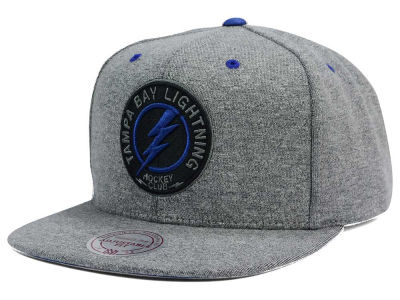 Tampa Bay Lightning Mitchell and Ness NHL Broad Street 2.0 Snapback Cap