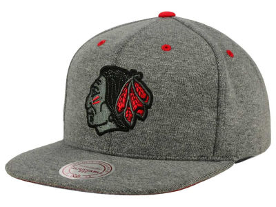Chicago Blackhawks Mitchell and Ness NHL Broad Street 2.0 Snapback Cap