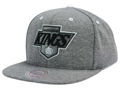 Los Angeles Kings Mitchell and Ness NHL Broad Street 2.0 Snapback Cap