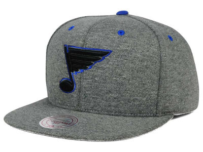 St. Louis Blues Mitchell and Ness NHL Broad Street 2.0 Snapback Cap