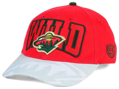 Minnesota Wild Old Time Hockey NHL Youth Ice Time Cap