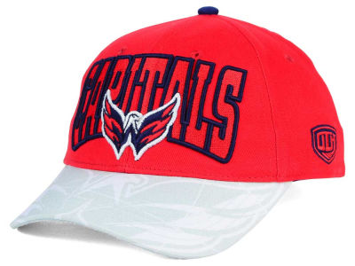 Washington Capitals Old Time Hockey NHL Youth Ice Time Cap