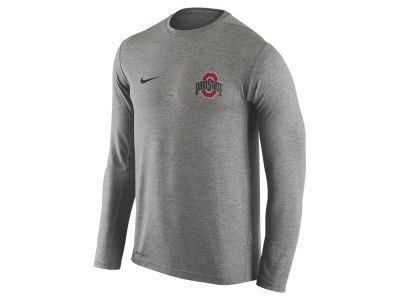 Ohio State Buckeyes Nike NCAA Men's Dri-Fit Touch Long Sleeve T-Shirt