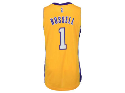 Los Angeles Lakers D'Angelo Russell adidas NBA Men's New Swingman Jersey