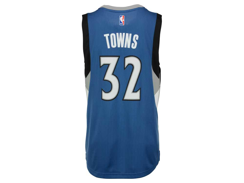... Minnesota Timberwolves Karl-Anthony Towns adidas NBA Mens New Swingman  Jersey ... a8e23ab02