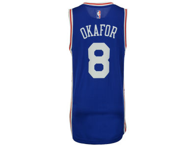 Philadelphia 76ers Jahlil Okafor adidas NBA Men's New Swingman Jersey