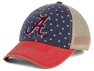 Alabama Crimson Tide Top of the World NCAA Starstripe Cap