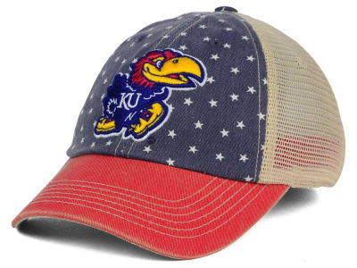 Kansas Jayhawks Top of the World NCAA Starstripe Cap