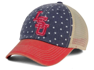 LSU Tigers Top of the World NCAA Starstripe Cap