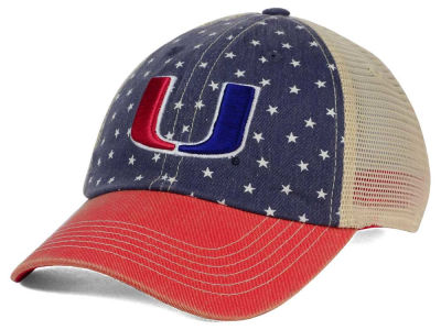 Miami Hurricanes Top of the World NCAA Starstripe Cap