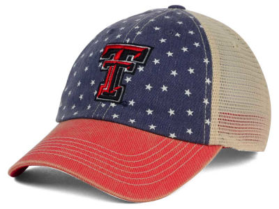 Texas Tech Red Raiders Top of the World NCAA Starstripe Cap