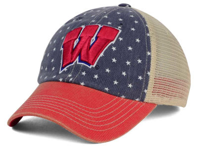 Wisconsin Badgers Top of the World NCAA Starstripe Cap
