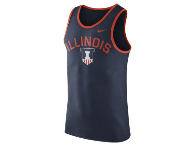Illinois Fighting Illini Nike NCAA Men's Cotton Team Tank