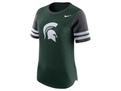 Michigan State Spartans Nike NCAA Women's Gear Up Modern Fan T-Shirt