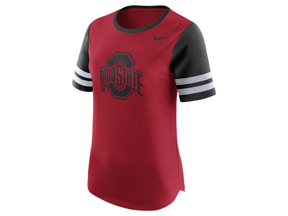 Ohio State Buckeyes Nike NCAA Women s Gear Up Modern Fan T-Shirt ... 57b93baca2