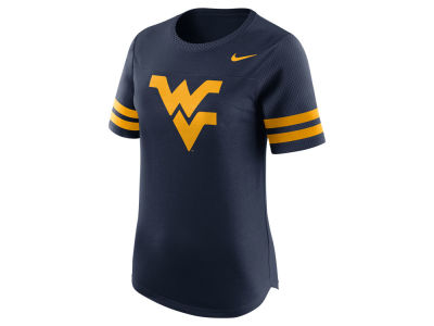 West Virginia Mountaineers Nike NCAA Women's Gear Up Modern Fan T-Shirt